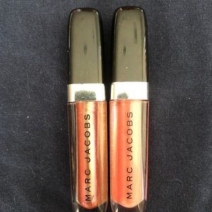 BN Set of 2 Travel Sized Marc Jacobs Lip Glosses